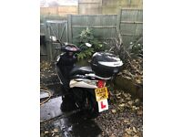Sinnis Shuttle 125 cc 2015 1 owner 1590miles - great runner only petrol gauge not working