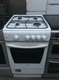 INDESIT Free standing Full gas cooker 50 cm Width in good condition & perfect working order