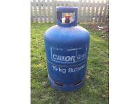 CALOR GAS BOTTLES 15KG BUTANE, 19KG PROPANE