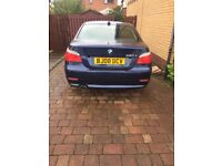 BMW 520D for sale. Good condition throughout. MOT to June 2018. Runs great, low mileage