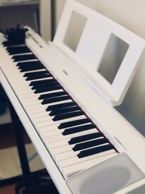 Yamaha NP12 Digital Piano with Stand & Pedal (Very Good Condition)