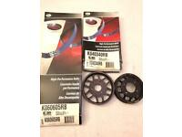 ECS Tuning Aluminium Water Pump & Power steering pulley Kit with High performance belts