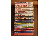 21 Warner Brothers DVD collection