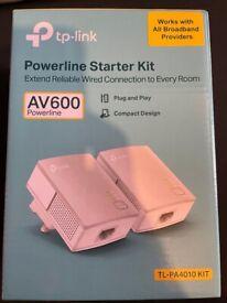 TP-LINK AV600 Nano Powerline Starter Kit