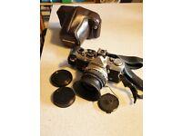 OLYMPUS OM2n 35mm film CAMERA