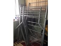 Double And Single metal bunk beds