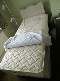 Slumberland Single bed & head board