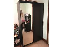 IKEA (MORVIK) Wardrobe With a Mirror