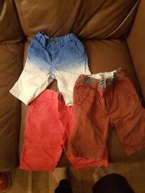 Boys shorts age 5 Ted baker & Next