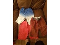 Boys shorts age 5 Ted baker & Next