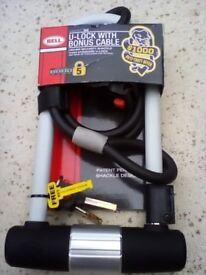 U-Lock with Bonus Cable