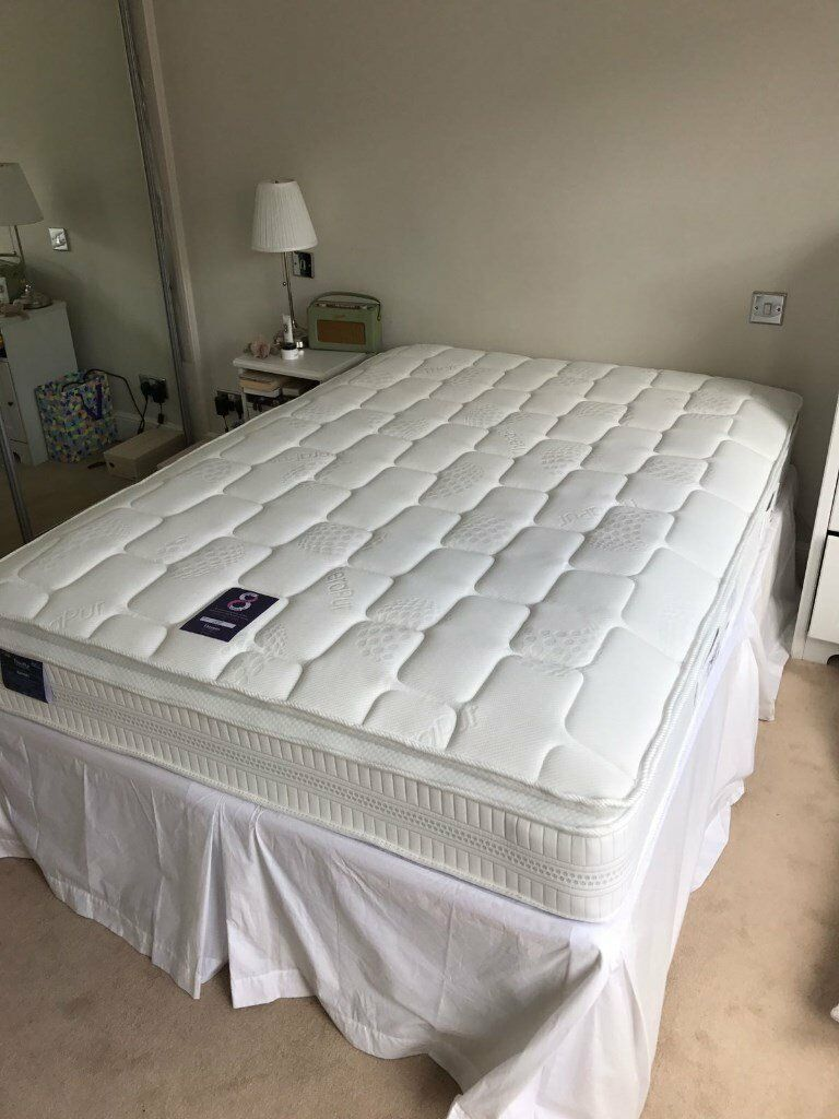 Dreams Therapur Double Mattress 6 Months Old Excellent Condition Free Divan John Lewis Base