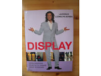 Display by Laurence Llewelyn-Bowen hardback book. Published by Collins & Brown Limited. 160 pages.