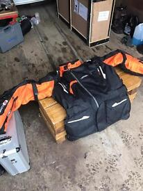 Motorcycle adventure/ touring riding gear