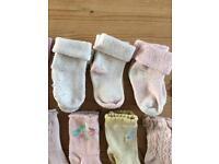 Baby Girls socks age 3.5