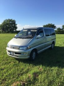 TOYOTA HIACE REGIUS CAMPERVAN - RELIABLE AUTOMATIC PERFECT FOR FESTIVALS, OUTDOORS