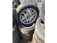 205/55/16 VW GOLF ALLOY WHEELS AND TYRES