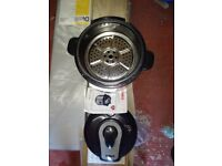 Tower red electric pressure cooker