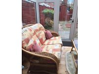 Immaculate conservatory furniture