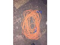 Caravan Electric Hook Up Cable 25 metres Long.