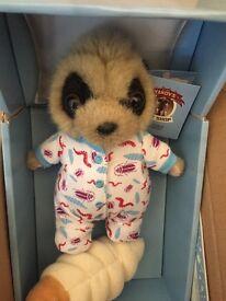 Baby Oleg meerkat and grub BNIB