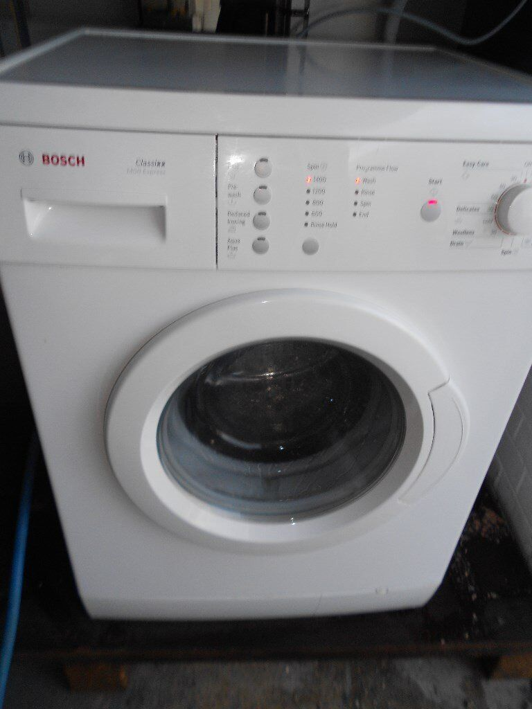 bosch sensor touch A++ class 6kg washing machine low used in vgc free local delivery