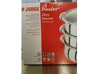 Judge 20cm basics steamer. Brand new, unused and boxed