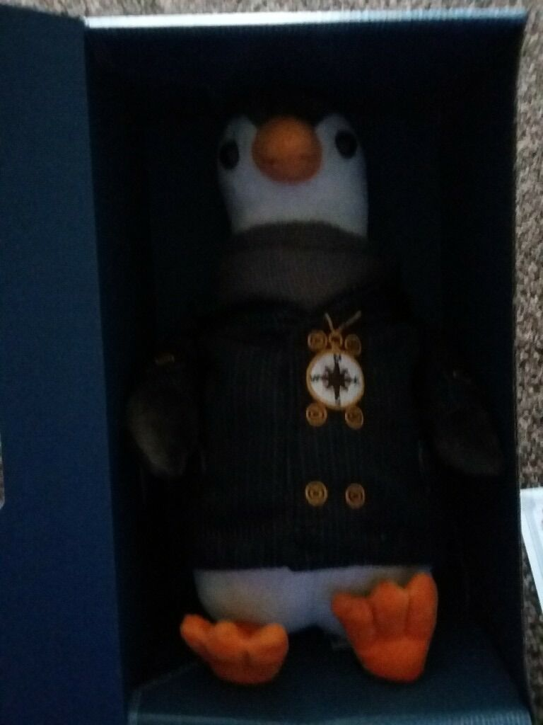 British Gas Wilbur Penguinin Wallsend, Tyne and WearGumtree - British Gas Wilbur Penguin soft toy with certificate of authenticity. Brand new never been out of box. Open to offers
