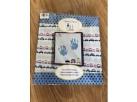 Mamas and Papas Kit to Create Canvas of Your Baby's Hand / Footprint. BNIB