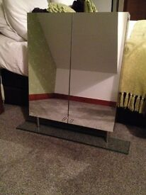 HUDSON REED DOUBLE MIRRORED BATHROOM WALL CABINET