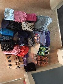 Large bundle of girls age 10 clothing & shoes