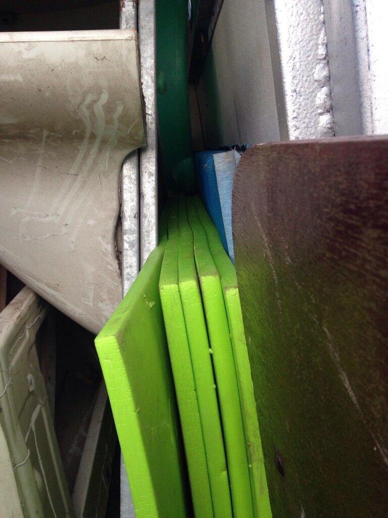 Bouncy castle mats