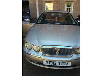for sale gold coloured rover conniseur saloon very nice condition