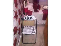 2 modern chairs GOOD CONDITION