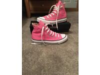 Converse Chuck Taylor All Star Hi-Tops - brand new only worn to try them on !