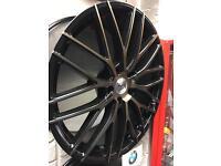 "Genuine AC German wheels 19"" 5x120 bmw"