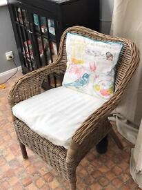 Wicker Armchair - Great Condition