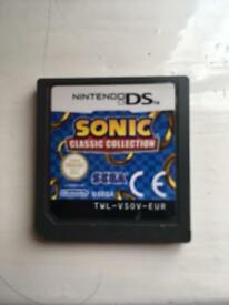 Sonic classic collection ds game £10
