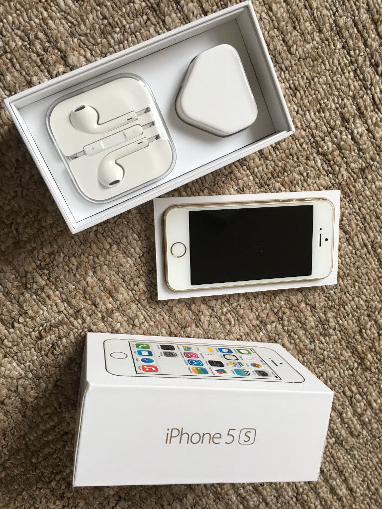 iPhone 5S 32GB Unlockedin Billericay, EssexGumtree - iPhone 5S 32GB Factory Unlocked White/Gold In A1 condition All working order Original box Charger/ USB cable etc. Unused earbuds. Selling due to upgrade. Collection only from Billericay (Will not post)