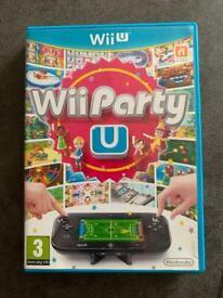 Wii Party U WiiU game