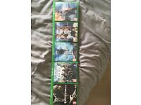 Xbox one games for sale-Mortal combat X, Assassins creed unity, Star Wars battlefront, UFC 2