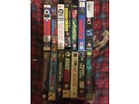 50+ VHS Tapes Horror/Thriller/Action/Family