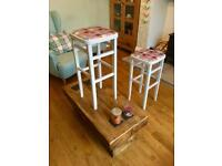 Retro vintage stools