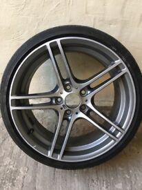 """BMW GENUINE 313i 19"""" 8J Alloy Wheel"""