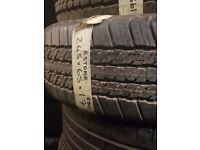 245/65/17 NEW 1x Bridgestone 1x dunlop