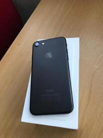 iPhone 7 256gb. Matt black