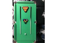 4ft 6in Folding snooker Table