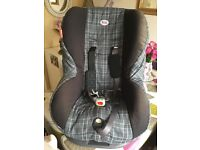Britax Asis car seat, suit up to 3/4 year old.