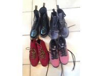 Ladies Boots For Sale Doc Martin and Timberland