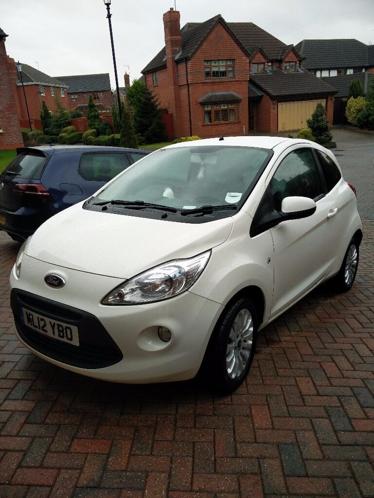 Ford Ka Zetec  White Low Mileage K Excellent Condition